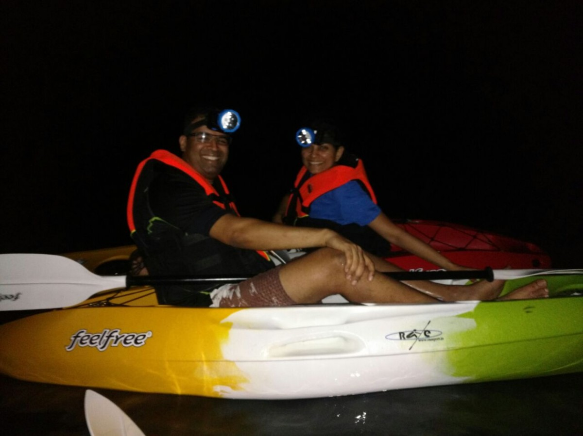 Kayaking Havelock Night Andaman Adventure Travel The Great Next