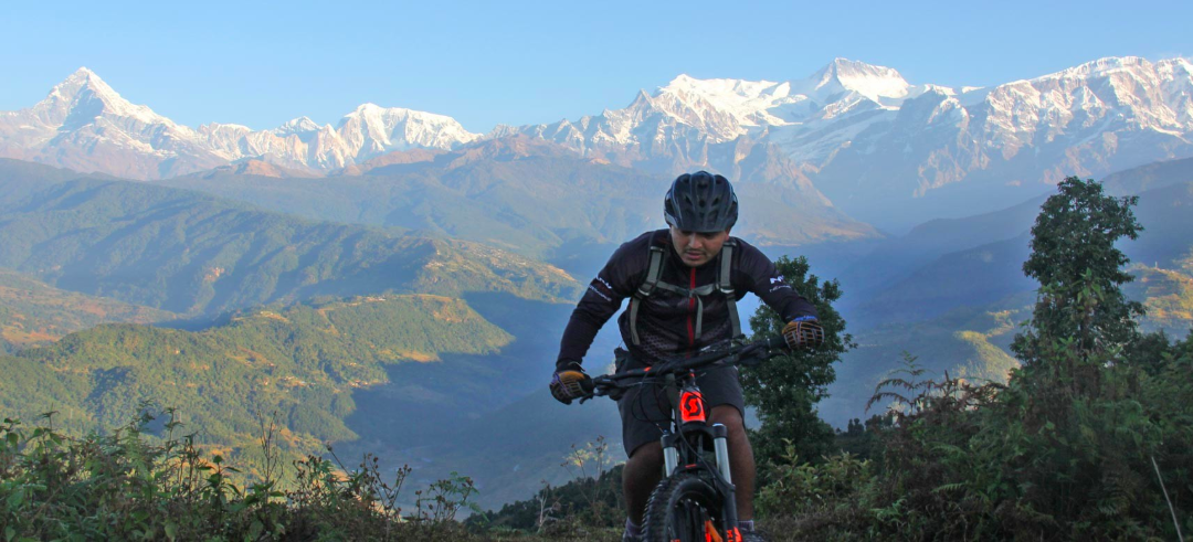 Kristi Village Mountain Cycling Biking Pokhara Nepal Adventure Activity Destination Places Himalayas Travel