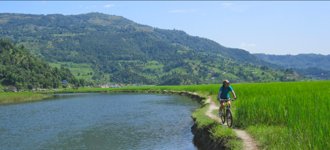 Pame Village Mountain Cycling Biking Pokhara Nepal Adventure Activity Destination Places Himalayas Travel