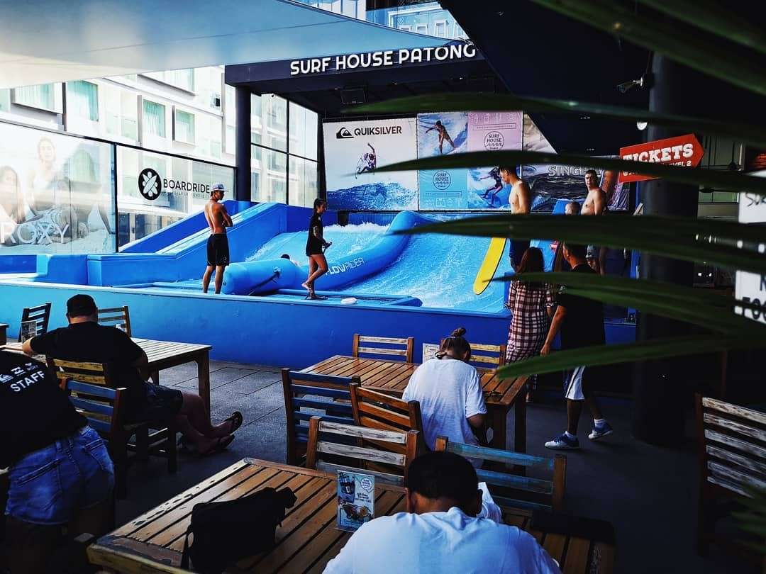 Surfing Flow Rider Patong Phuket Thailand Things to Do The Great Next