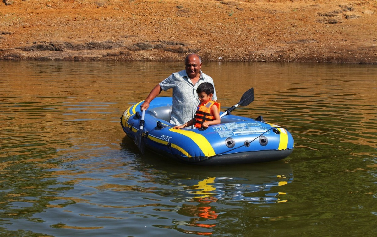 Floating Tent Camping Kurungwadi Maharashtra The Great Next Adventure Travel