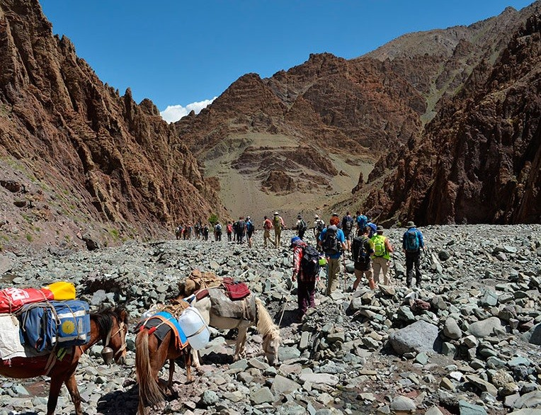 Trekking Stok Spituk Ladakh Adventure Travel The Great Next