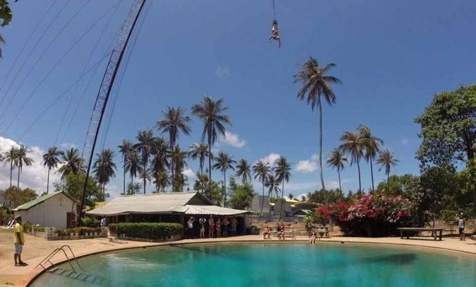 Bungee Jumping Koh Samui Thailand Adventure Travel The Great Next