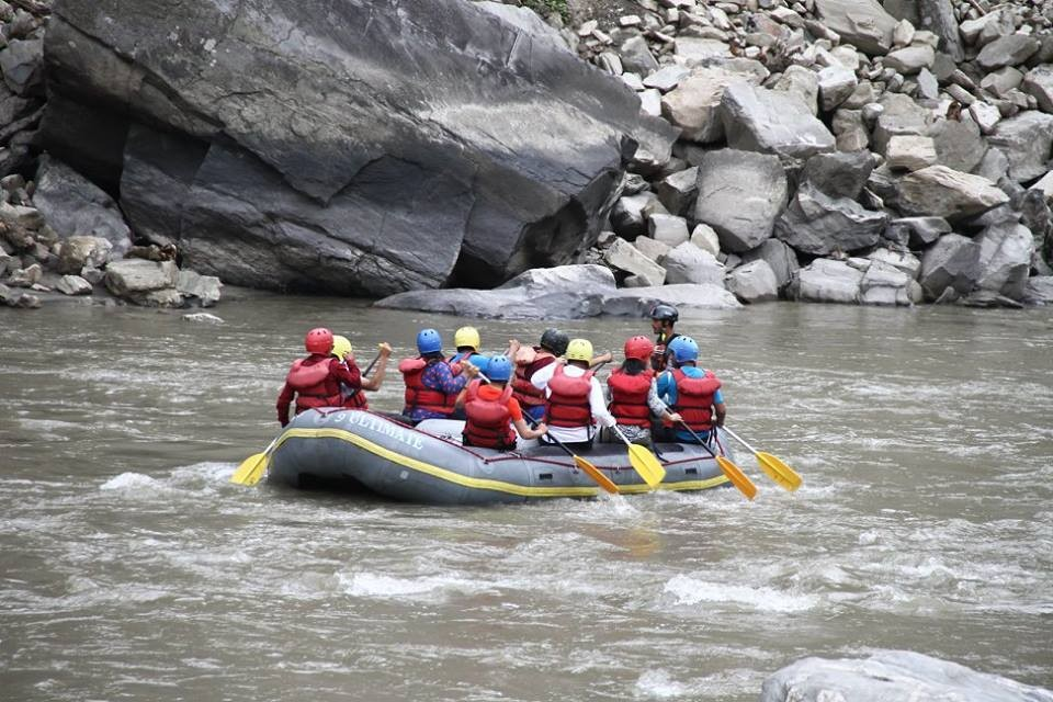Rafting Nepal Kathmandu Adventure Travel The Great Next