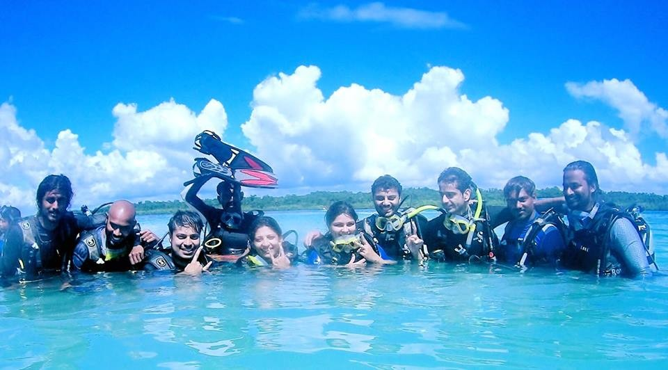 Scuba Diving Havelock India Basic Diver SSI Adventure Travel The Great Next