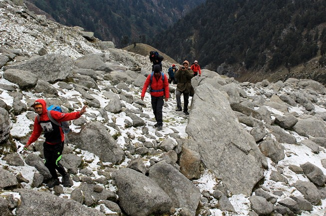 Moon Peak Dhauladhar Himachal Pradesh Adventure Trekking The Great Next