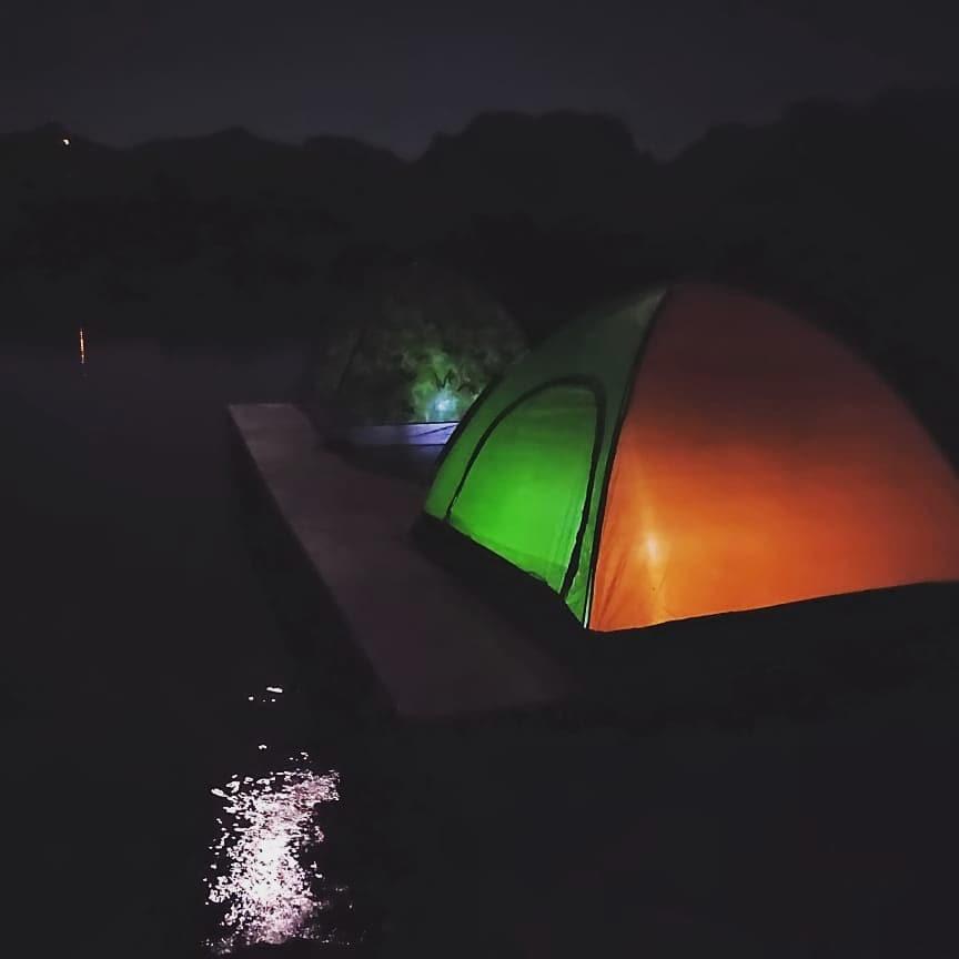 Floating Tent Camping Kurungwadi Maharashtra The Great Next