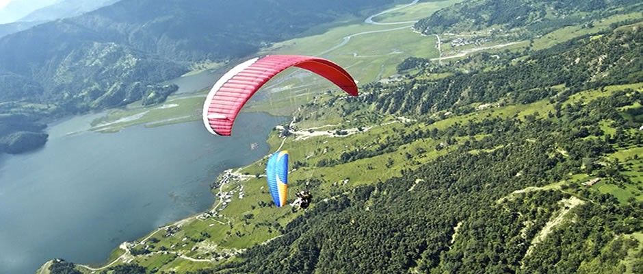 Paragliding Pokhara Nepal Adventure Travel The Great Next