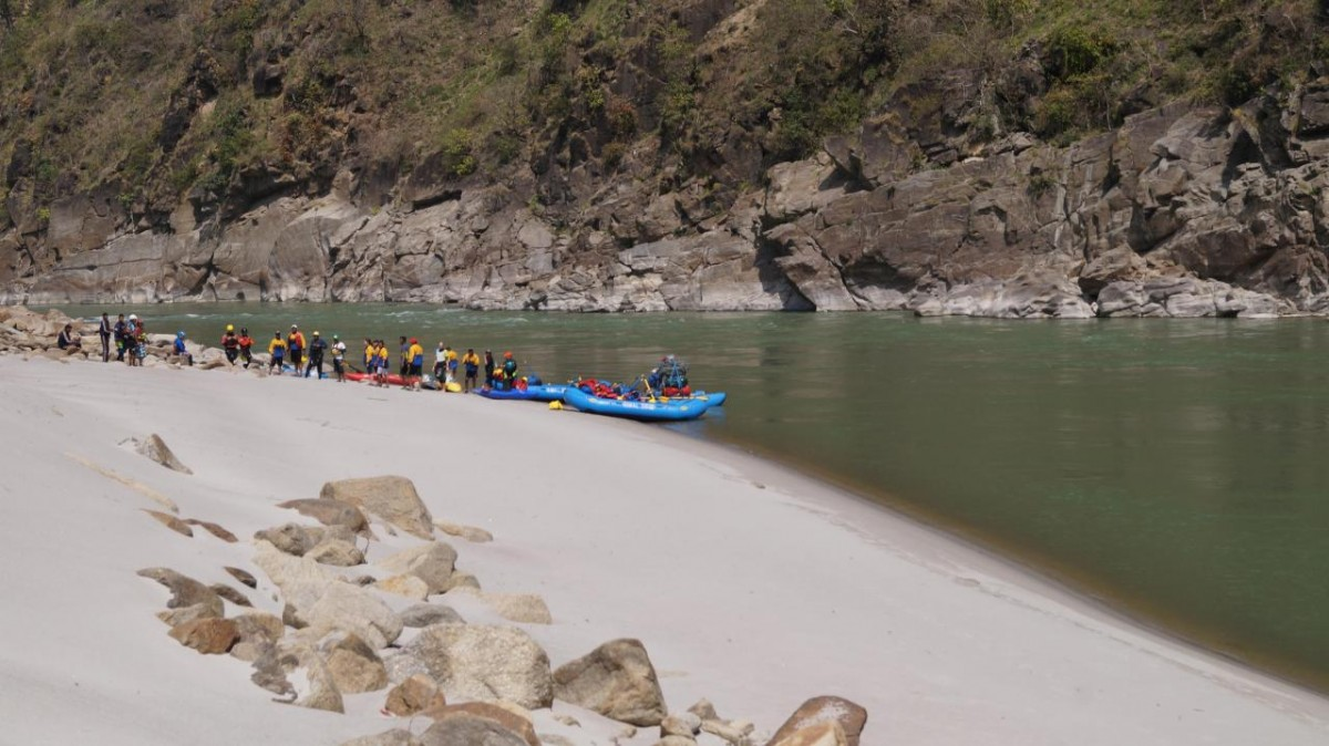 Rafting Kali Uttarakhand River Expedition Adventure Travel The Great Next