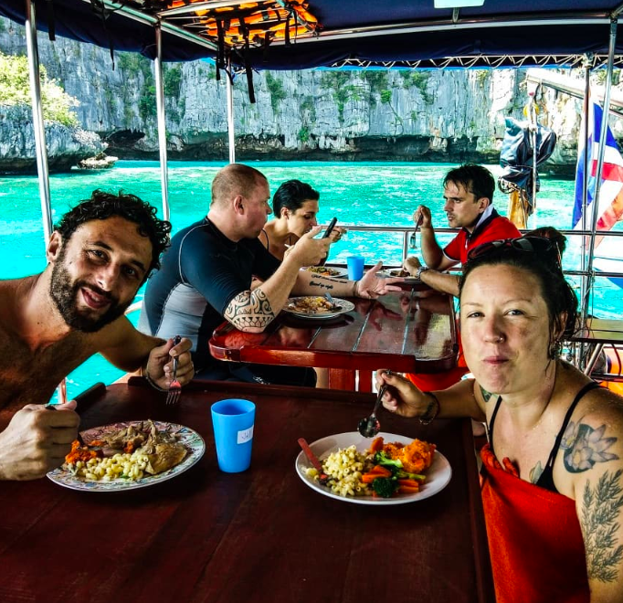 PADI Advanced Open Water Diver course in Koh Phi Phi Thailand Water Sports Adventure Travel