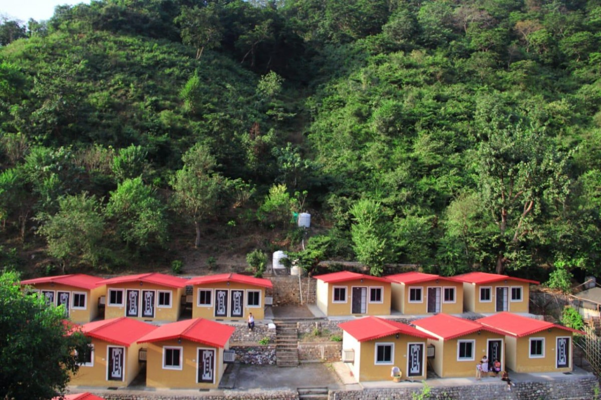 Uttarakhand Rishikesh Camping Rafting Panchvati Cottage The Great Next