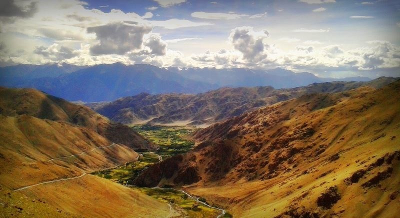 Motorcycling Spiti Valley Himalayas Mountains Adventure Activity Sports
