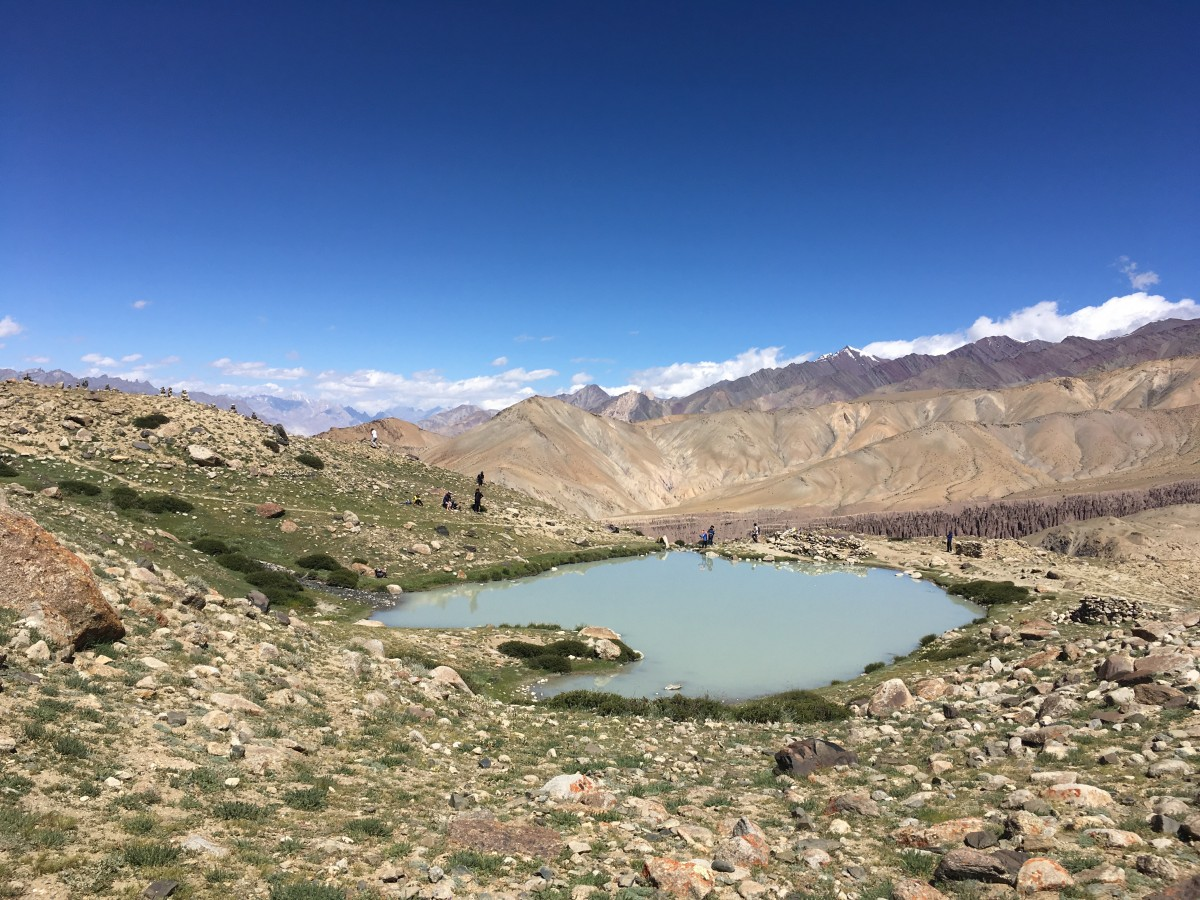 Trekking Markha Valley Ladakh Mountains Adventure Activity Sports Snow Fun