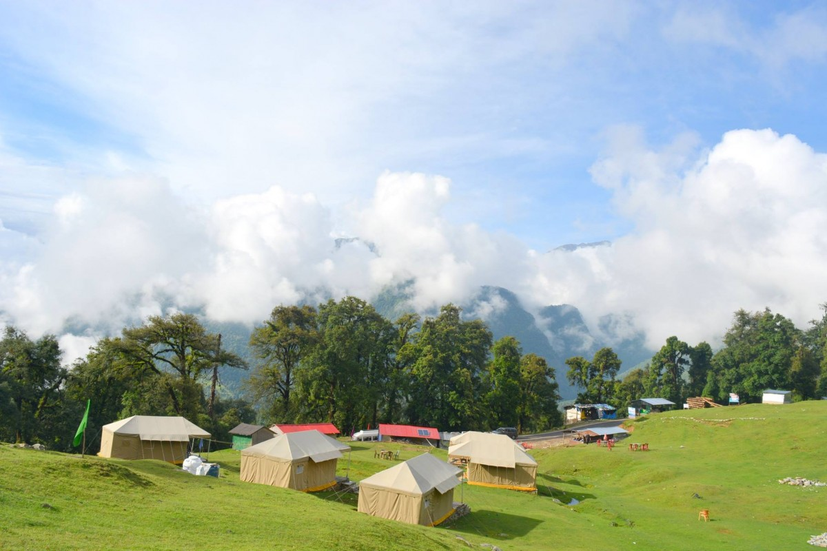Chopta Camping Swiss Tent Uttarakhand Aventure The Great Next