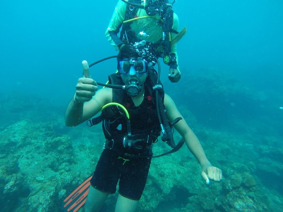 Scuba Diving Murdeshwar Netrani Karnataka The Great Next Adventure Travel