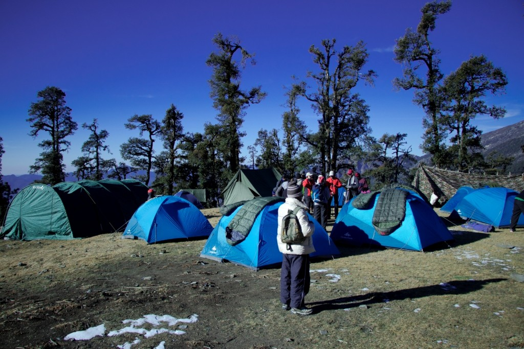 Snow Trek Brahmatal Lake Uttarakhand Dehradun Camping Adventure Trekking India The Great Next