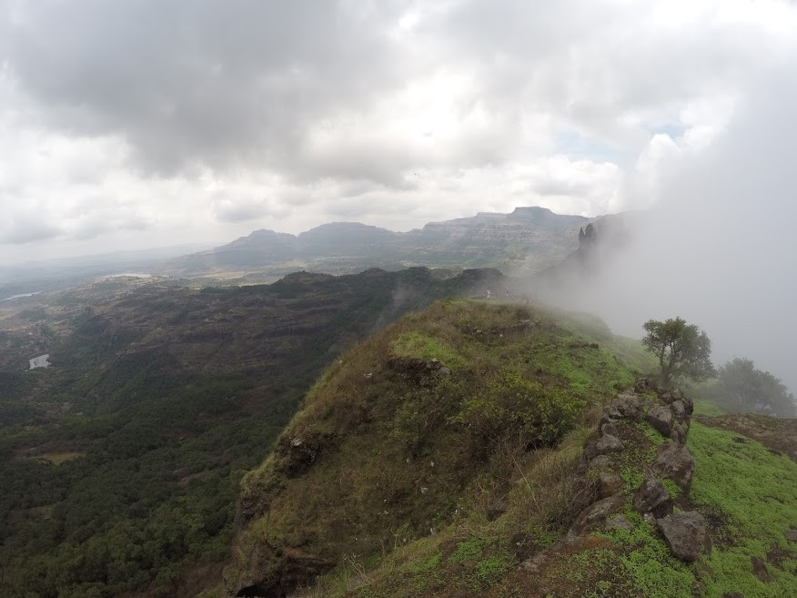 Ratangad Fort Trek Monsoon Sahyadris Western Ghats Mumbai Maharashtra The Great Next