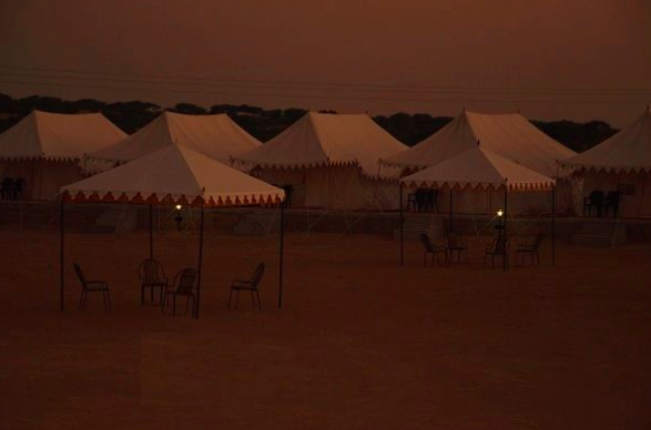 Jaisalmer Luxury Camp Rajasthan Camping Adventure Travel Destinations Sand Dunes Camels The Great Next