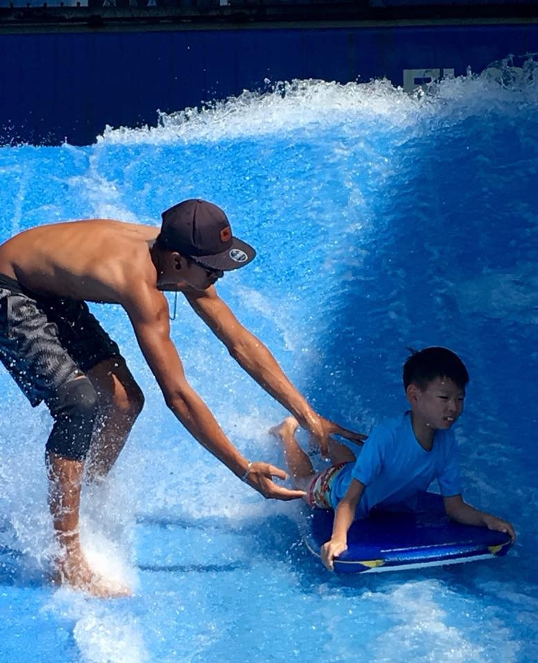 Kids Activities Surfing Patong Phuket Thailand The Great Next