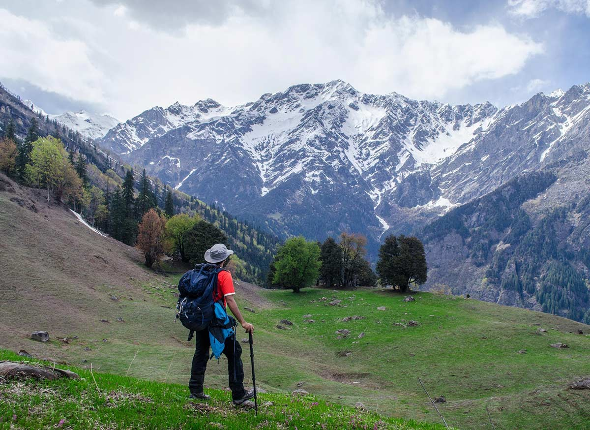 Trekking Lamadug Himachal Pradesh Mountains Adventure Activity Sports Snow Fun