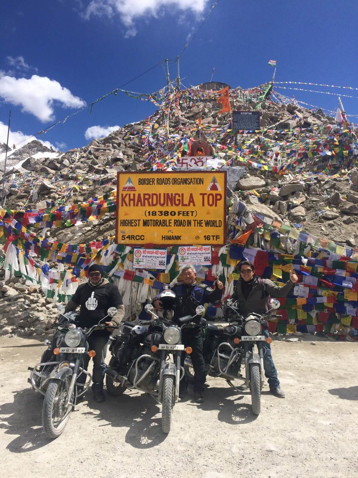 Motorcycling Ladakh Himalayas Mountains Adventure Activity Sports