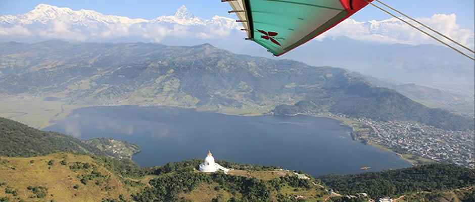 Ultralight Flight Pokhara Nepal Adventure Travel The Great Next