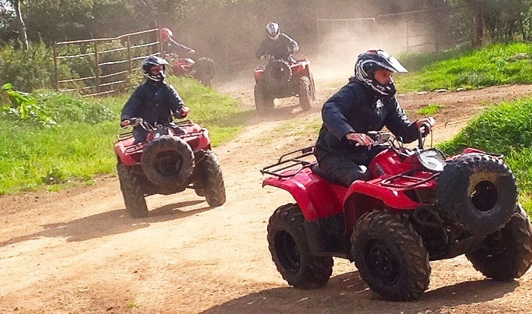 ATV Quad Bike Pattaya Thailand Adventure Travel The Great Next