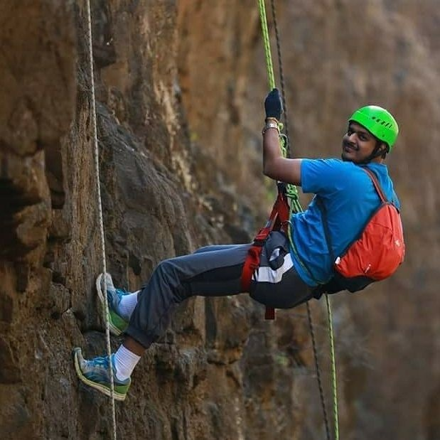 Trekking Rappelling Sandhan Valley Maharashtra Adventure Travel The Great Next