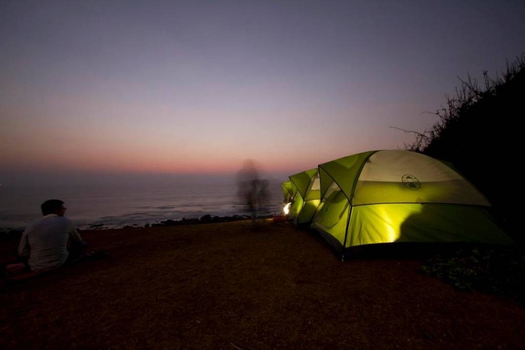 Maharashtra Kashid Beach Camping Adventure Campsite The Great Next