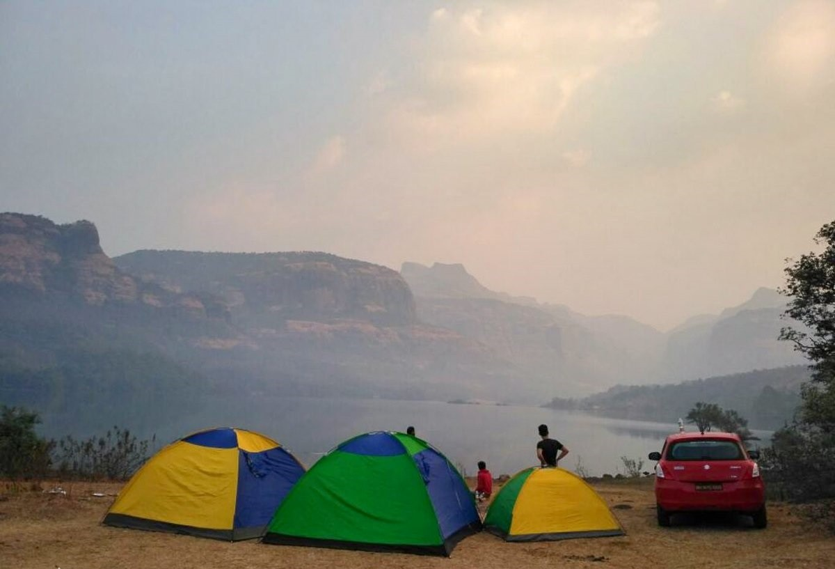 Camping Trekking Bhira Devkund Mumbai Maharashtra Adventure Travel The Great Next
