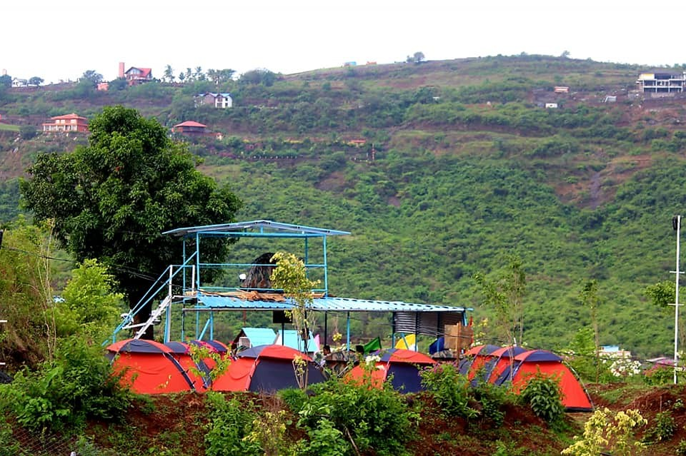 Camping Visapur Fort Maharashtra Adventure Travel The Great Next