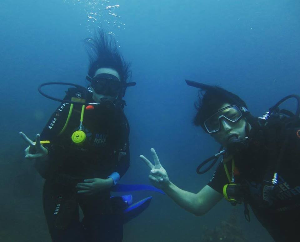 Scuba Diving PADI Discover Open Water Diver Bali Tulamben Indonesia Adventure Travel The Great Next