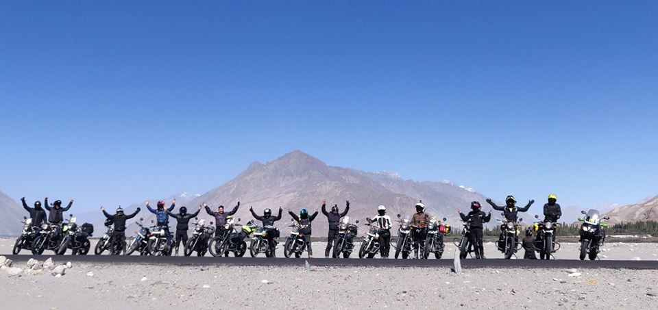 Motorbiking Leh Ladakh Jammu Kashmir Adventure Travel The Great Next