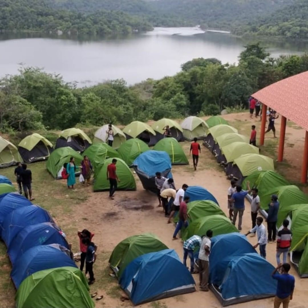 Camping Bangalore Corporate Team Building Karnataka Adventure Travel The Great Next