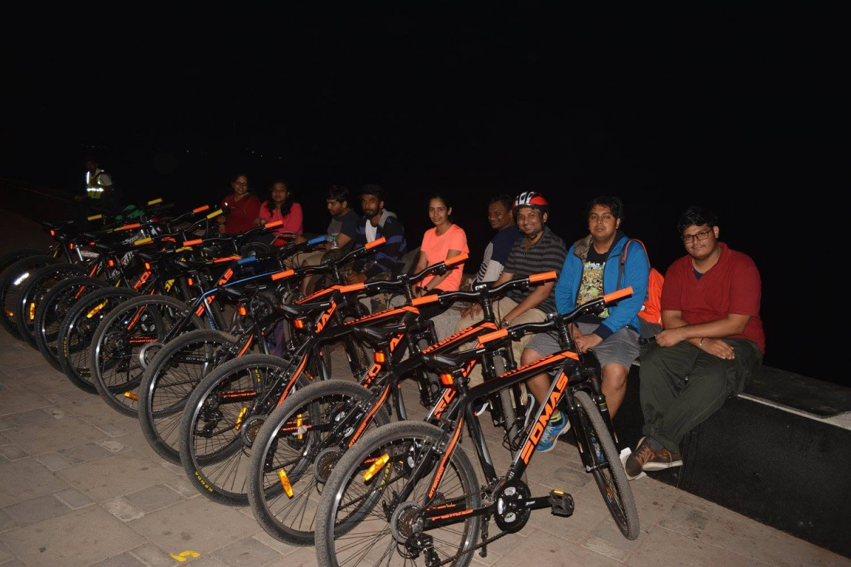 Midnight City Cycling Mumbai Urban Adventure The Great Next