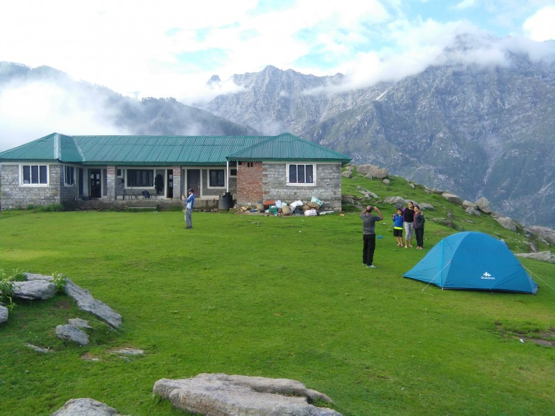 Trekking Triund Himachal Pradesh Adventure Travel The Great Next