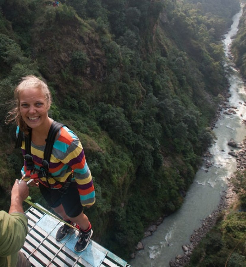 Camping Bungee Jump Nepal Kathmandu Adventure Travel The Great Next