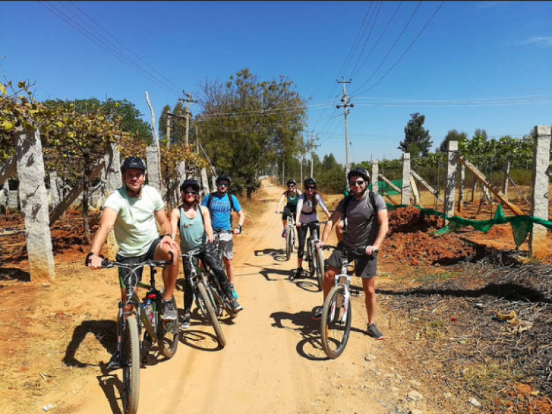 Nandi Hills Cycling Karnataka Bangalore Adventure Travel Sports Activties Nature