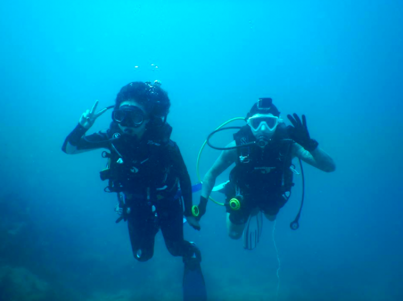 Discover Scuba Diving Koh Tao Thailand Bangkok Water Sports Adventure Travel Marine Activity