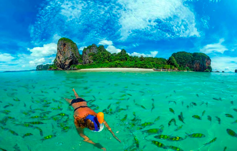 Hong Island Snorkeling tour Thailand Krabi Water Sports Adventure Travel Destinations