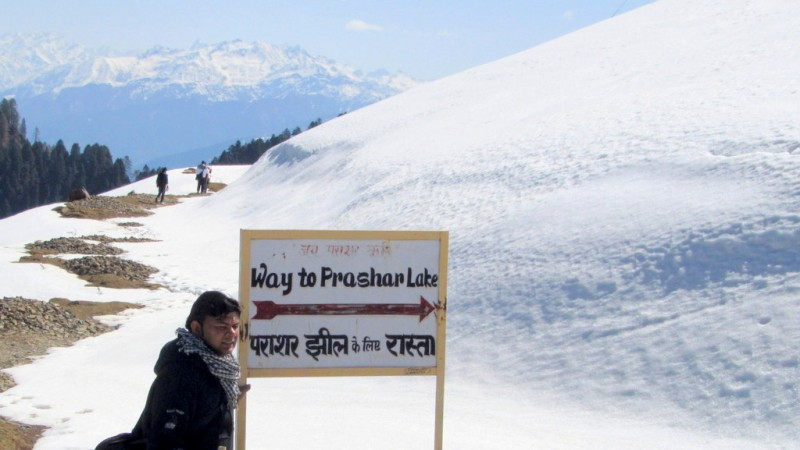 Prashar Lake Trek Himachal Pradesh Snow Adventure Travel The Great Next