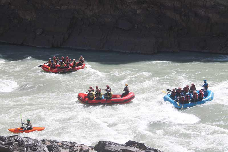 River Rafting Zanskar Leh Ladakh Adventure White Water