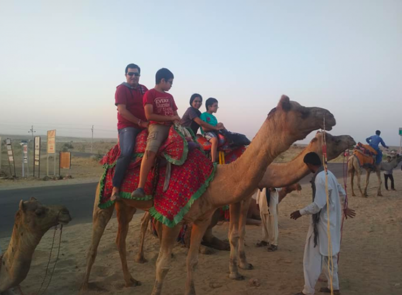 Camping Jaisalmer Rajasthan Travel Adventure India Destinations The Great Next