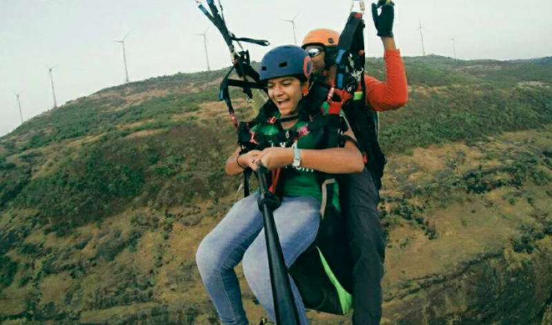 Paragliding Tandem Kamshet Maharashtra Adventure The Great Next