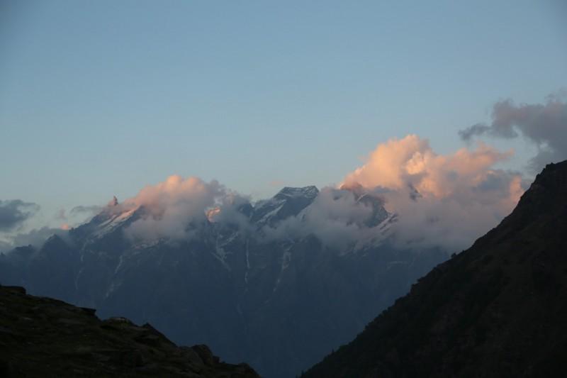 Rupin Pass Trek Himachal Pradesh Mountains Adventure Activity Camping Nature