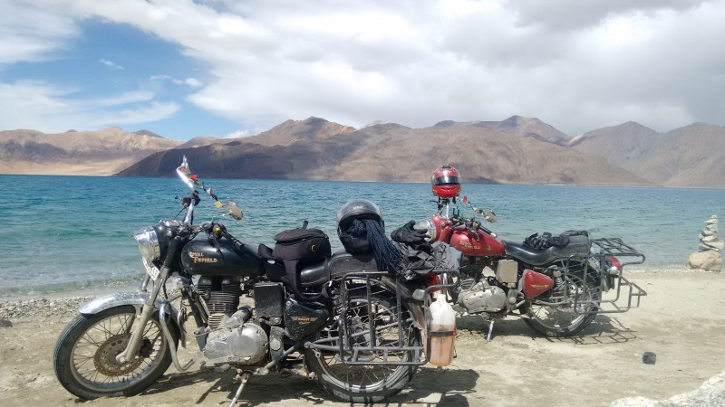 Motorbiking Biking Ladakh Leh Himalayas The Great Next