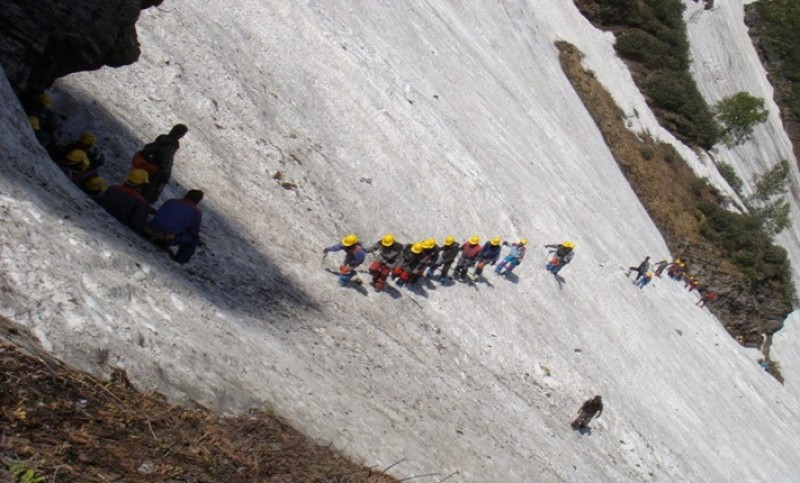 Basic Mountaineering Course Manali Himachal Pradesh Adventure Travel The Great Next