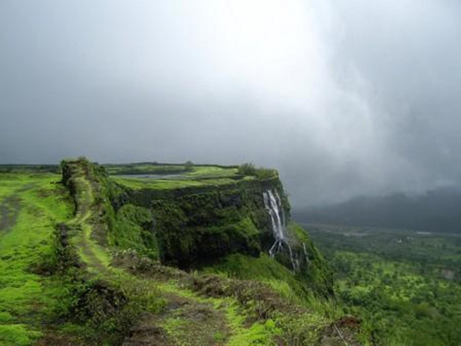 Trekking Korigad Maharashtra Adventure Travel The Great Next
