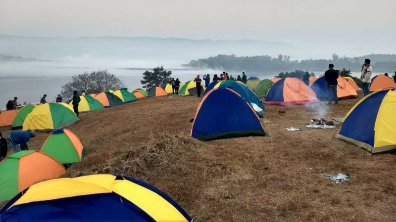 New Year 2020 Camping Lakeside Panshet Mumbai Pune Lonavala The Great Next